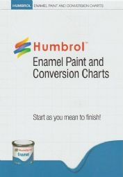 Humbrol P1158 Enamel Paint and Conversion Charts